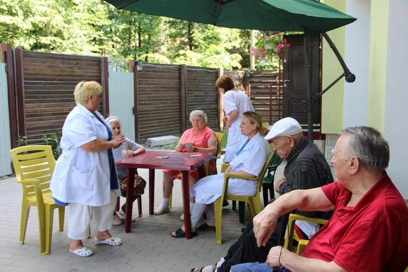 Санатории и пансионаты для престарелых проблемы домов интернатов престарелых